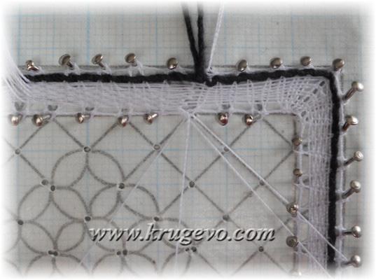 Технология выполнения петлевой зашивки