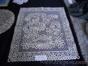 Выставка кружевных работ