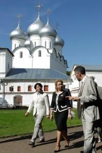 Светлана Медведева и Валентин Юдашкин