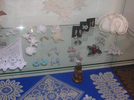 Выставка кружева