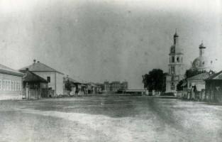 Белая Холуница, ул. Троицкая, 1985 год.