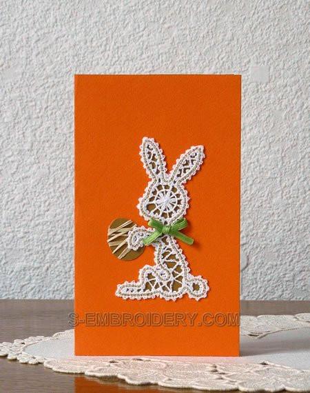 krugevnoy krolik_Кружевной кролик