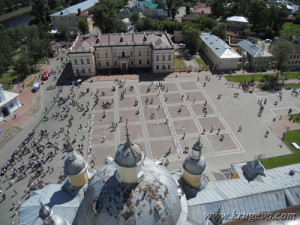 vid_na_vologdy6_Вид колокольни на Соборную площадь