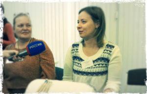 Интервью с Еленой Русаковой