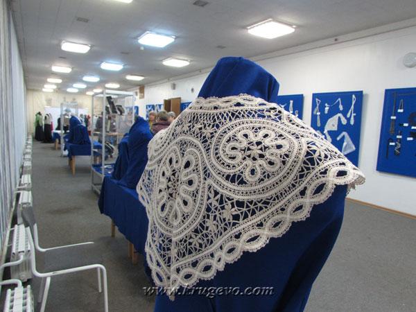 Выставка-конкурс готовых кружевных работ