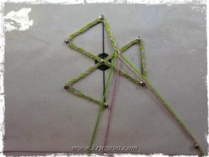 Основа для паучка из плетешков