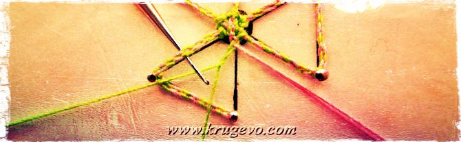 Плетение паучка