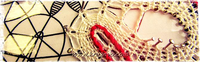Скань «верёвочка» в закидке